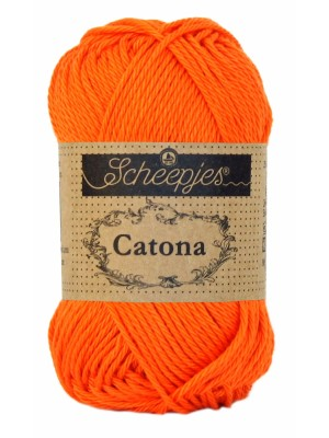Scheepjes Catona - 189 Royal Orange